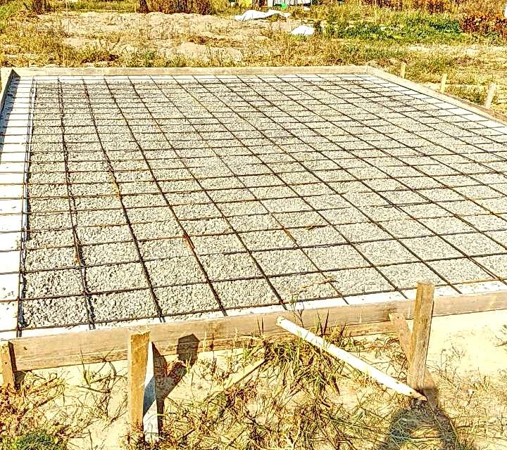 Обустройство бетонного фундамента