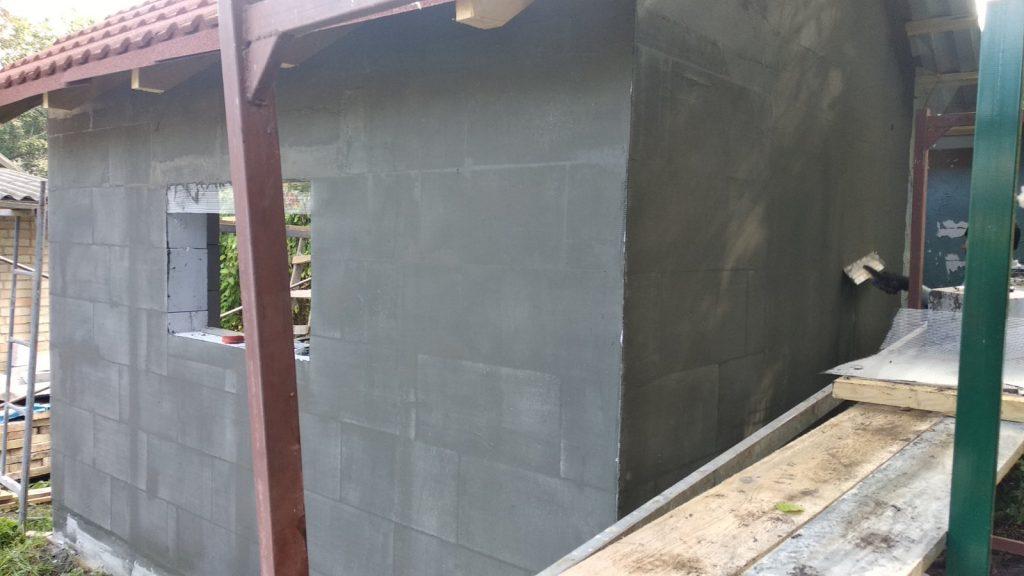 Облицовка фасадной плиткой - подготовка